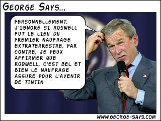 Georges l'a dit !